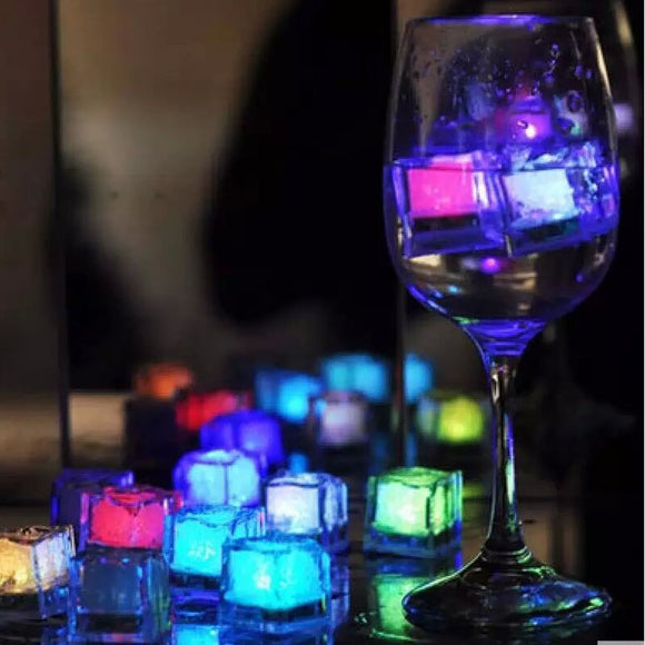 12pcs Colorful Luminous LED Glowing Ice Cubes. - Shift+Alt+Paradigm Metaphysical Style & Supply