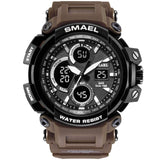 Smael Waterproof Military LED Tactical Mens Camo Sport Watch. - Shift+Alt+Paradigm Metaphysical Style & Supply