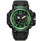 SMAEL Tactical Military 50M Waterproof LED Men's Watch. - Shift+Alt+Paradigm Metaphysical Style & Supply