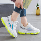 Hot Trend Womens Chunky Sneakers Sport Thick Sole Tennis Shoes Girls Agressive Tread - Shift+Alt+Paradigm Metaphysical Style & Supply