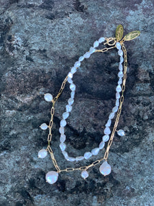 Olga Pearl Chain Necklace