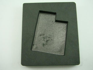 Custom Utah Gold Bar 10 oz Graphite Mold Silver 6 oz