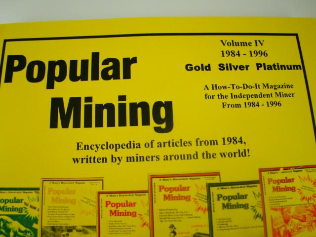 Popular Mining-Encyclopedia of Articles#4-Plans-DIY-Gold Prospecting History(H34