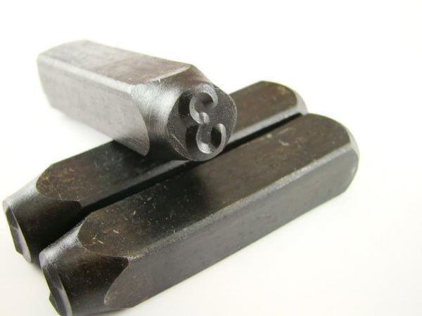 "1/2"" Number #3 Stamp-Punch-Hand-Tool-Gold Bar-Silver-Trailer-Metal-Leather"