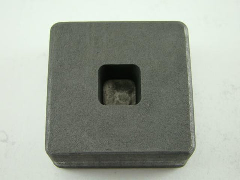 1/4 oz Gold 1/8 oz Silver Bar High Density Graphite Mold Tall Cube (G34)