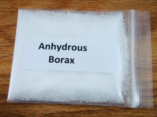 1/2 Lb Anhydrous Borax-Crucible seasoning & sealing-Gold Recovery-Flux Smelting