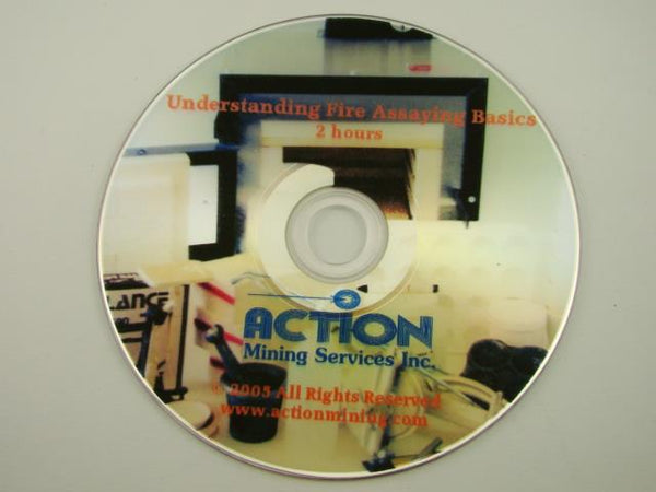 Investigating & Understanding Fire Assaying DVD Gold-Silver-Ore-DIY-How To