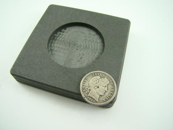 Round $50 Gold Coin Size High Density Graphite Mold 1 oz Troy