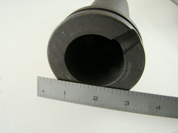 High Quaility 2 kg Kilo Graphite Crucible 4 Automatic Furnace Grooved -Gold