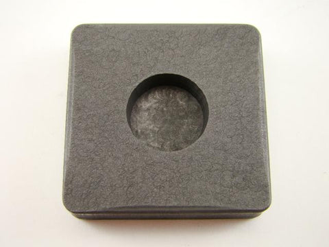 1/2 oz Round Gold Bar High Density Graphite Mold - 1/8 oz Silver Copper Bars