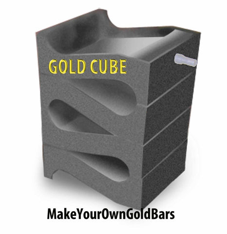 Gold Cube 4-Stack Recovery System-Concentrator-Mining-Black Sands-Sluice-NIB