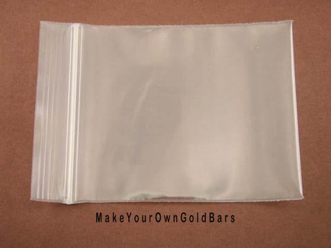 "100pcs 4Mil 3"" x 4"" Zip Lock Heavy Duty Plastic Bags-Storage-Jewerly-Parts"