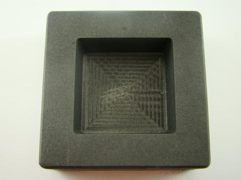10 oz Gold 6oz Silver Bar High Density Graphite Square Slab Mold Loaf Copper