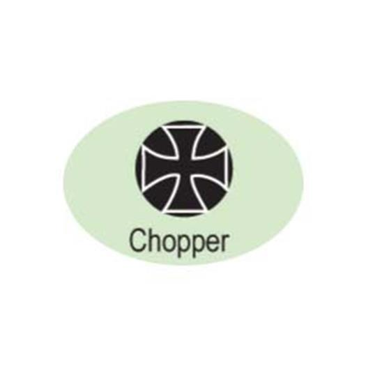 """Chopper Cross""Biker 3/16""-5mm-Stamp-Metal-Hardened Steel-Gold&Silver Bars"