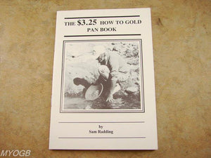 """How To Gold Pan""by Sam Radding - Pocket Book-Mining-Nuggets-DIY-Digger"