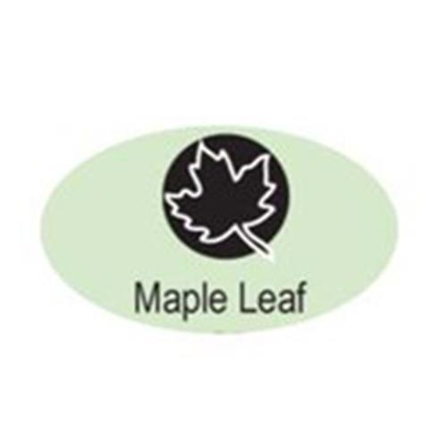 """Maple Leaf"" 3/16""-5mm-Stamp-Metal-Hardened Steel-Gold&Silver Bars Canada"