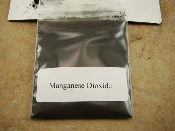 Manganese Dioxide- Gold Recovery - Flux Smelting-Refining-Silver-Clean