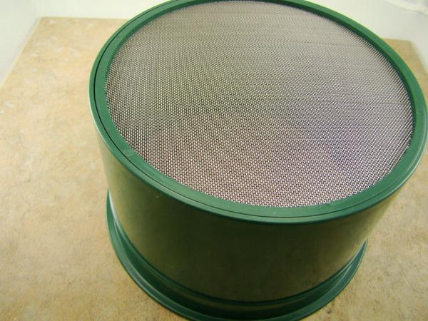 "12"" Green Gold Pan 5"" 60 Mesh Screen & Bottle Snuffer-Panning Kit-Prospecting"