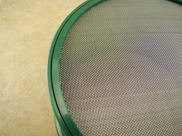 "Stackable Mini 5"" 30 Mesh Screen -Gold Panning - Prospecting - Mining -Stainless"