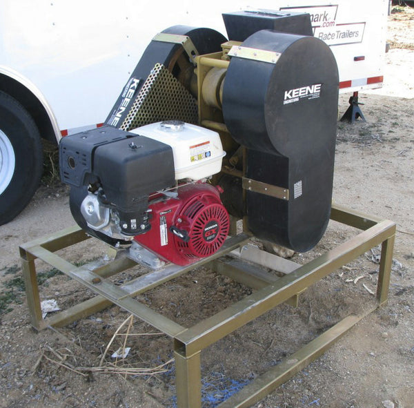 "Keene Engineering RC46 Gas Powered Rock Crusher 4"" x 6"" Rock to Dust-Jaw Crusher"