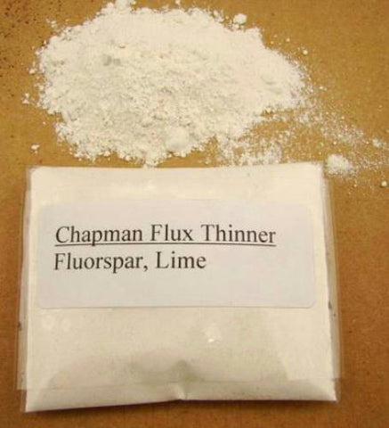 Chapman Flux Thinner-Smelting Gold & Silver-Black Sands-Jewelry-Refining