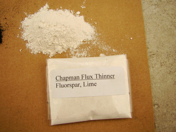 Pre-Mix 5lb Chapman Flux & Thinner Combo-Refine Gold-Silver-Smelting-Assay