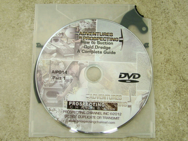 "Rob Goreham Teaches ""How to Suction Gold Dredge: A Complete Guide"" DVD Mining"