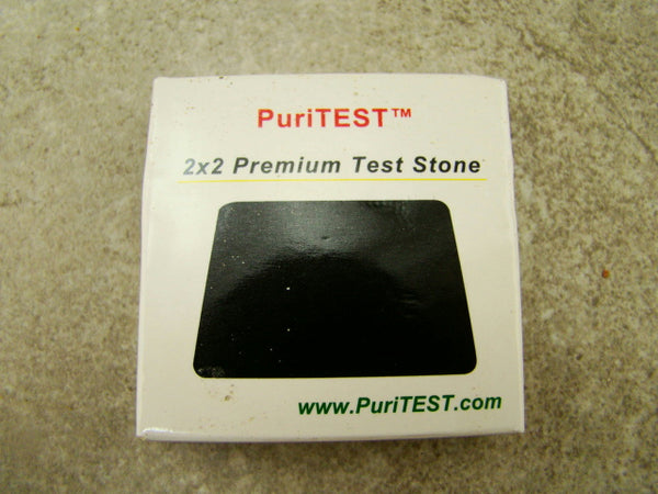 22K Gold Solution - Test Stone & Instructions