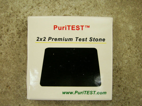 Gold, Silver, Platinum, 10K, 14K, 18K, 22K, Solution - Test Stone & Instructions