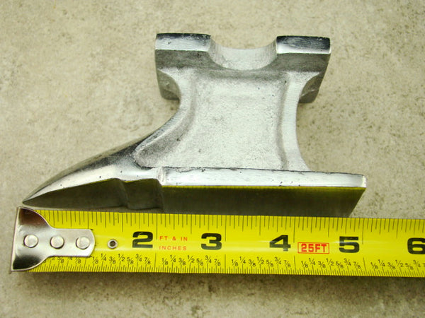 Metal Anvil, Metal Working, Stamp, Hammer, Paper Weight-Gold & Silver Bars