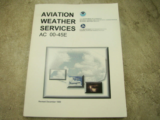 """Aviation Weather Services"" - Paper Back Book"
