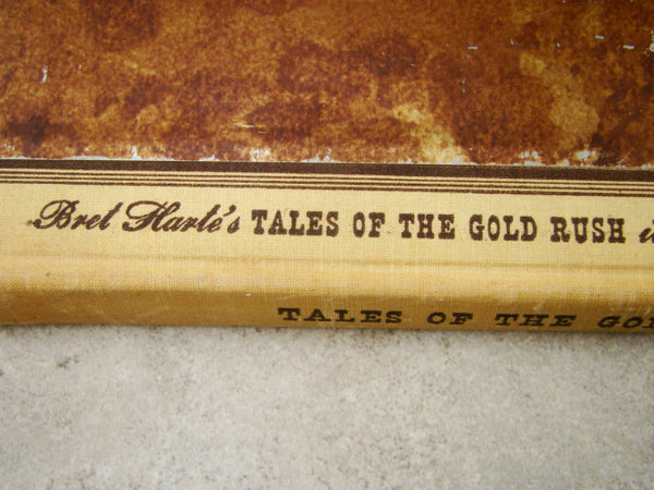 """Tales of the Gold Rush"" by Bret Harte Illustrated by Fletcher Martin HC"