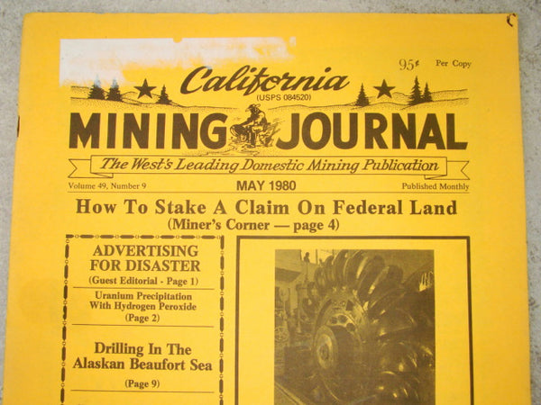 California Mining Journal May 1980 - How to Stake a Claim on Federal Land