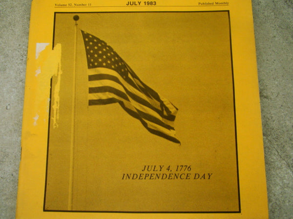 California Mining Journal July 1983 - Independence Day Issue