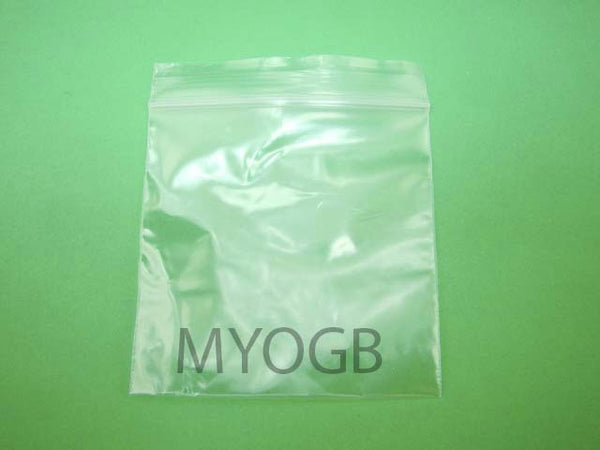 "200pcs 3"" x 3"" Zip Lock Plastic Bags-Storage-Jewerly-Parts-Gold Nuggets"