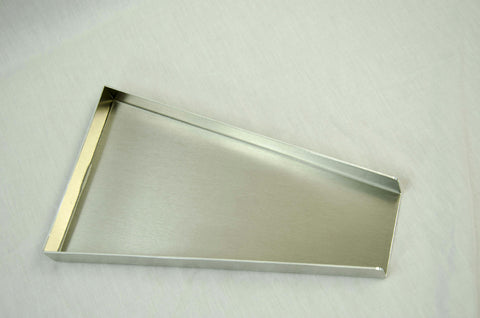 """Gold Rush"" Large Gold Scale Tray - 9"" Long - Lightweight Aluminum - Clean Up"