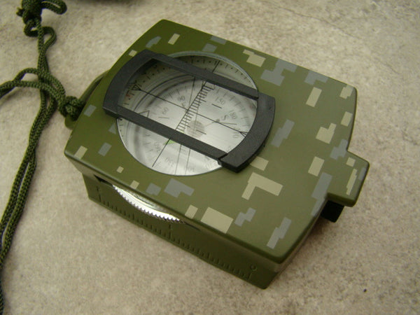Military Prismatic Compass - Map Reader -Camping-Backpacking-Survivial-Hiking