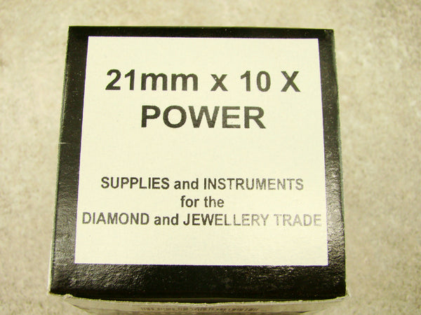 Jewlers 21mm X 10X Power Standing Magnifier, Magnifing, Jewellery