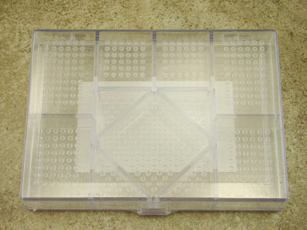 "11 In 1 Plastic Storage Containers 5-1/2"" x 3-15/16"" x 1"" Jewelry, Bead, Craft"