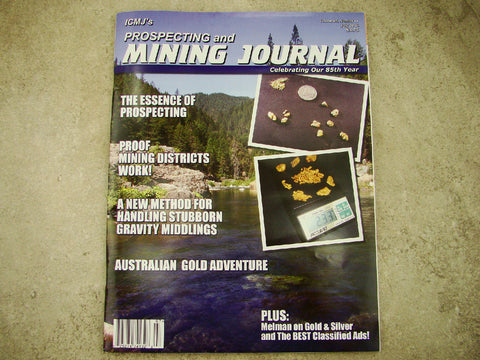 ICMJ's Prospecting & Mining Journal Magazine July 2016, Essence Of Prospecting