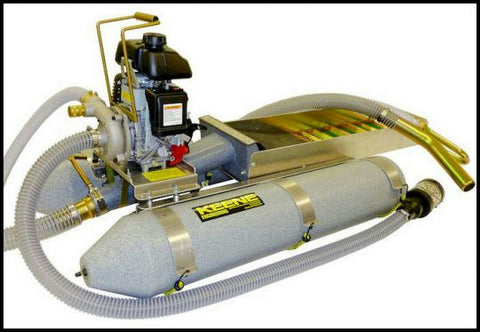"Keene Engineering 2"" Backpack Dredge with Power Jet  / Marlex Pontoons / Honda 2004PJF"