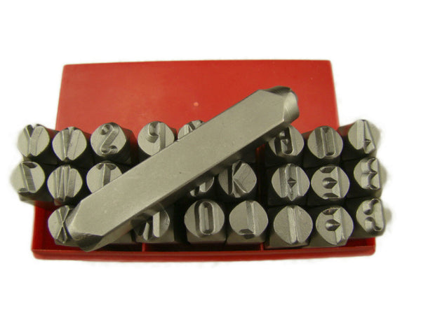 "3/8""  10MM Letter Punch Stamp Set Metal-Steel-Hand A-Z Big Size 27pcs"