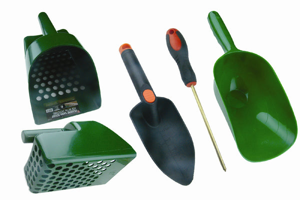 Treasure Hunters,Metal Detectors-Sand Scoop, Super Scooper, Hand Trowel & Probe