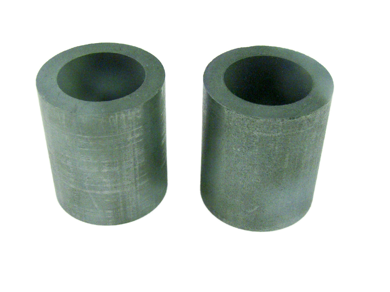"Lot of 2 Graphite 6 oz Crucibles for Mini Propane Furnace-1-1/2"" W x 1-3/4"" Tall"