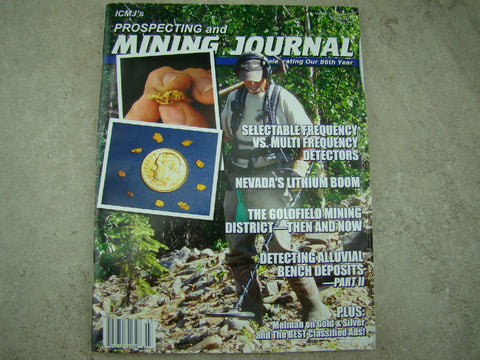 ICMJ's Prospecting & Mining Journal Magazine March 2017, GOLD!!! Chris Ralph