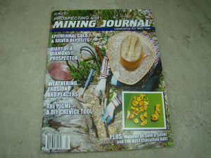 ICMJ's Prospecting & Mining Journal Magazine April 2017, GOLD!!! Chris Ralph