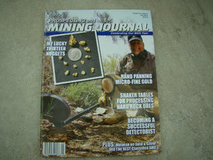 ICMJ's Prospecting & Mining Journal Magazine May 2017, GOLD!!! Chris Ralph