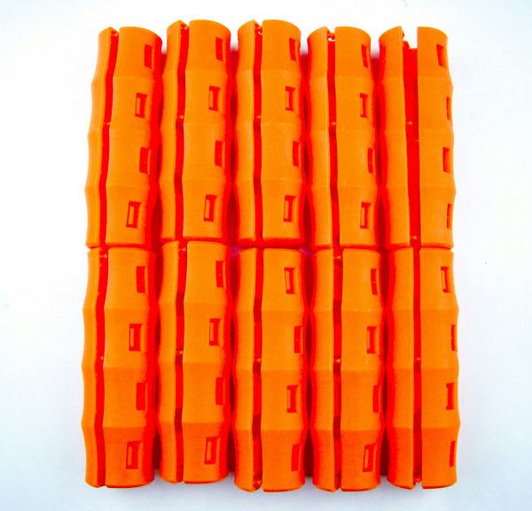 20 ORANGE SNAPPY GRIP -Bucket Handles -Mining-Gold Prospecting-Gardening