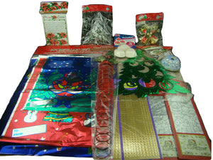 Lot of 12 Christmas Holiday Party Bake Wrapping Invitations Ornaments Decoration
