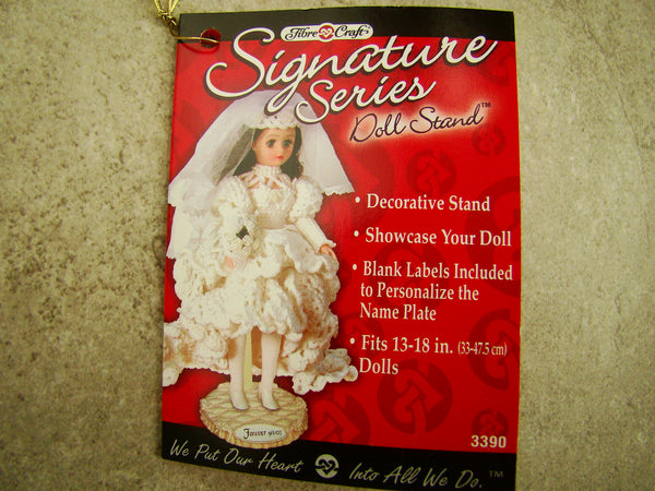 Set of 6 Antique/Decorative Doll or Stuffed Animal Stands